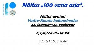 NÄITUS 100