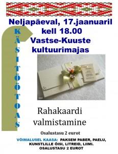 KÄSITÖÖTUBA17.01