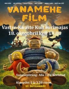 Vanamehe film 18.10