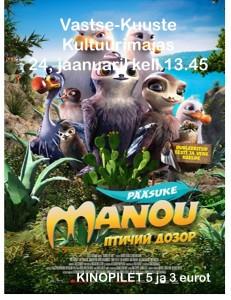 Pääsuke Manou.24.01